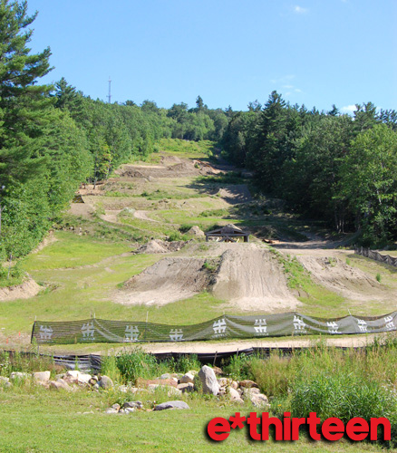 Killiecrankie slopestyle course (click to enlarge)