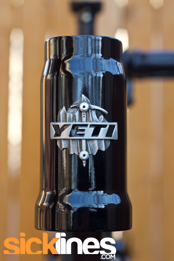 Tapered headtube 2012 Yeti SB66 SB-66 Small Aluminum Frame - Sick ...