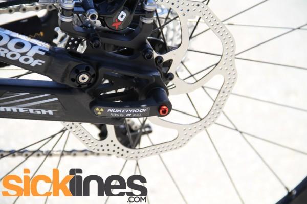 , 2012 Nukeproof Mega Enduro Mountain Bike