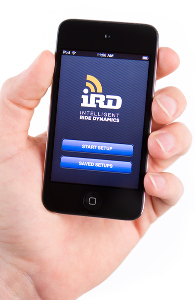 , Eurobike 2012: FOX Intelligent Ride Dynamics – IRD – Iphone and Android App