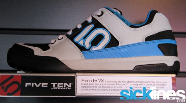 , 2013 Five Ten Freerider VXi, Impact, and Line King Shoes