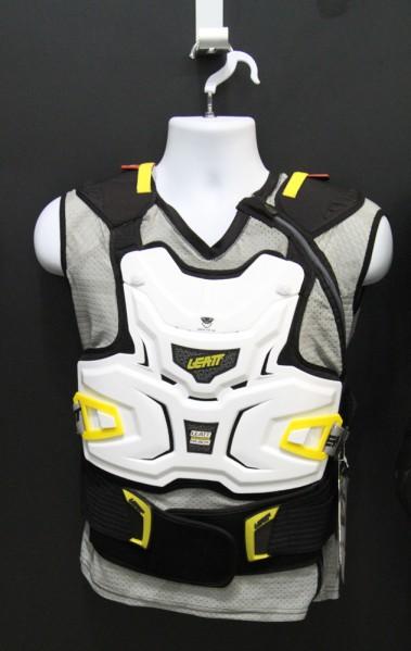 , Leatt 2013 New Neck Brackes and Body Armor – 3DF Knee and Elbow