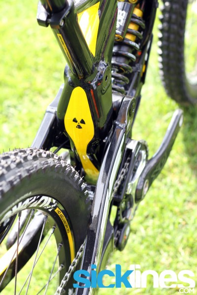 , 2013 Nukeproof Pulse Downhill Bike