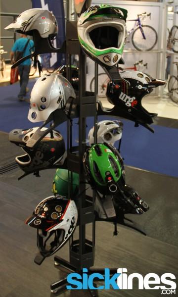 , 2013 Urge Helmets, Renthal, and EVOC