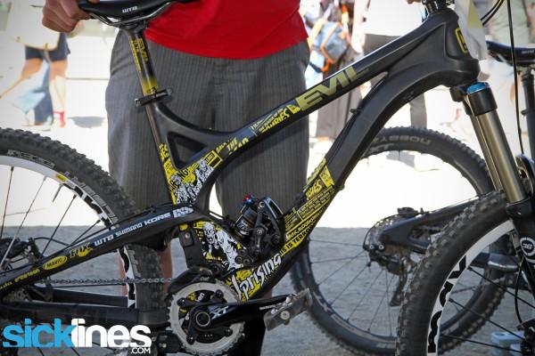 EVIL Uprising - 26in Carbon Trail Bike - Kevin Littlefield
