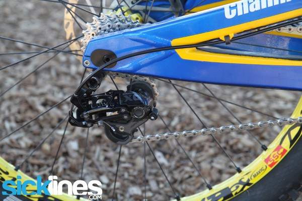 , Sam Hill's Nukeproof Pulse – Chain Reaction Cycles