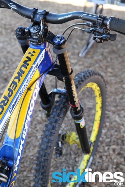 Sam Hill - Nukeproof Pulse 2013