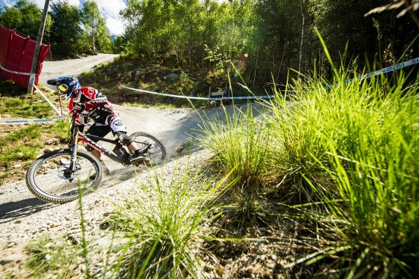 Neko Mulally UCI DH World Cup #1 Ft William - Trek World Racing 2013
