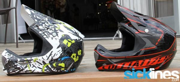 Specialized Dissident 2014 - Comp Helmet - Neon Blue - Race Black