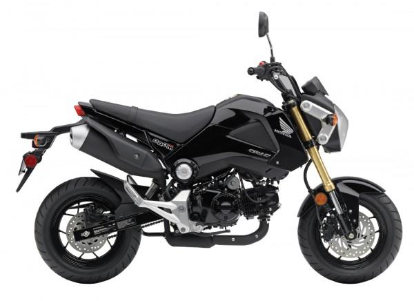 2014 Honda Grom Black