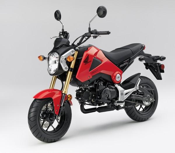 2014 Honda Grom Red