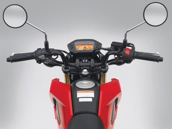 2014 Honda Grom Cockpit