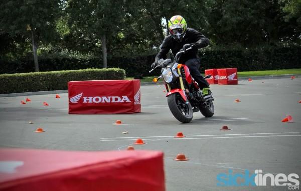 Justin Barcia - Honda Grom Prix