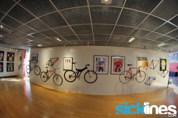 Historic bikes Specialized Headquarters - Morgan Hill CA