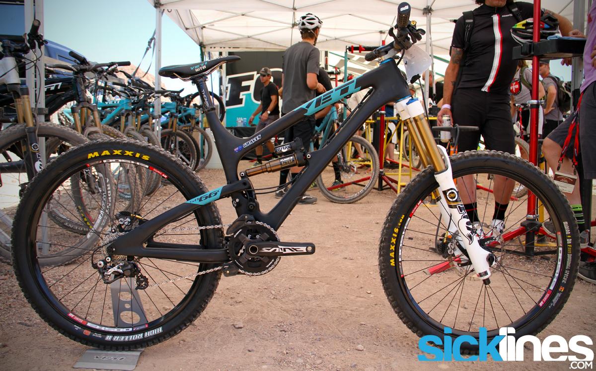Jared Graves - World Championship Bike - Yeti SB66 Carbon - Sick