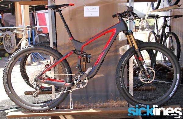 , 2014 Marin 27.5″ lineup – Attack Trail Quad Carbon / Mount Vision / Rocky Ridge