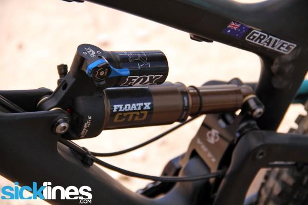 Jared Graves - World Championship Bike - Yeti SB66 Carbon