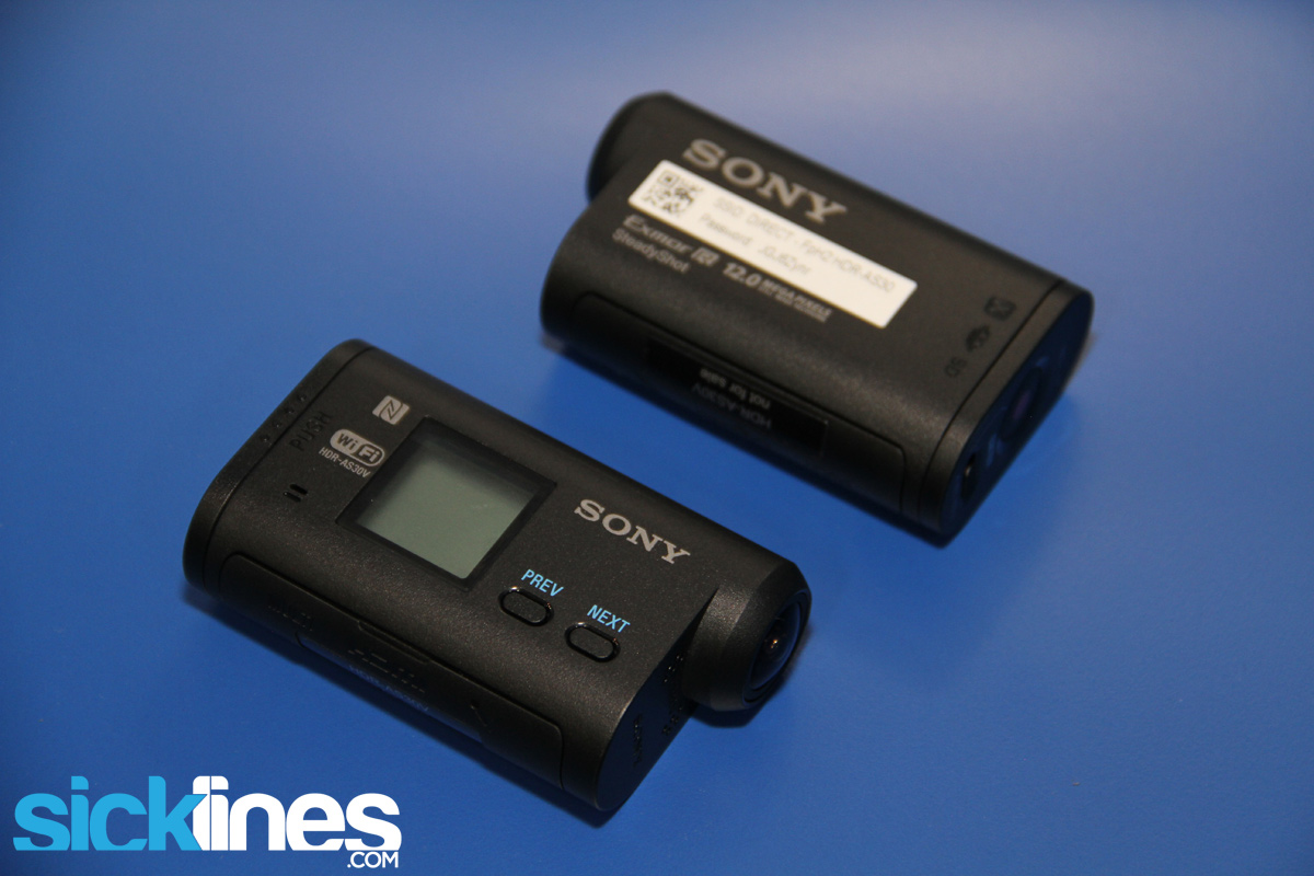 Camera Sony As30 Action Cam interbike 2013 race face next sl and sonys updated hdr as30v sony action cam as30v