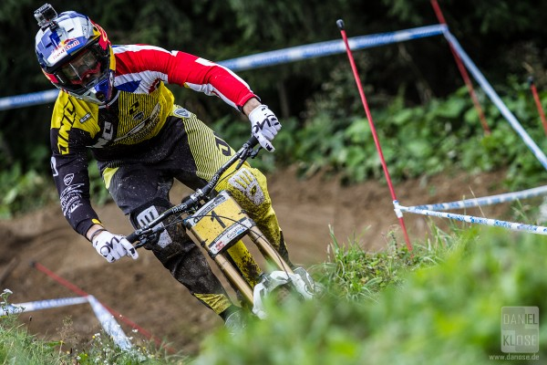 Gee Atherton Leogang UCI World Cup #6 Qualifying 2013