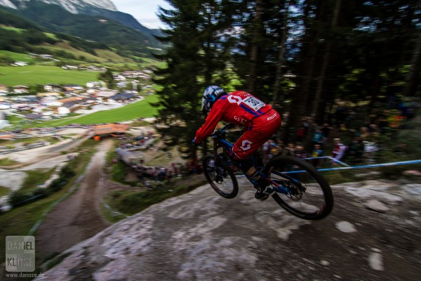 Patrick Thome Leogang UCI World Cup #6 Finals 2013