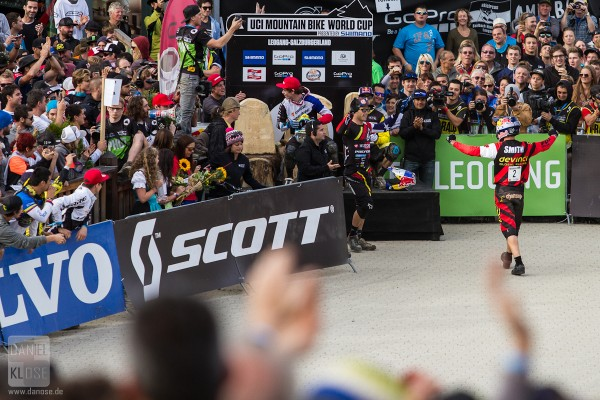 Steve Smith Leogang UCI World Cup #6 Finals 2013