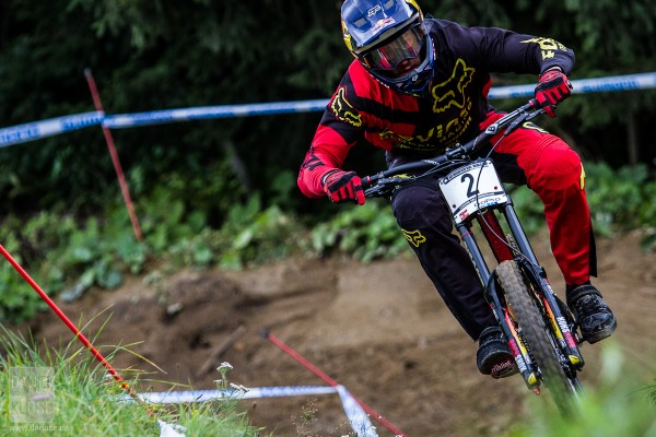 Steve Smith Leogang UCI World Cup #6 Qualifying 2013