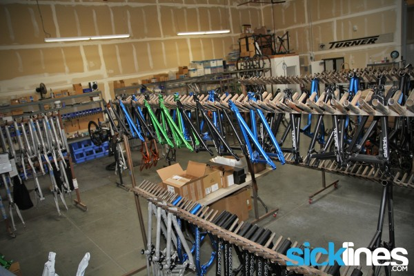 Turner Bikes Temecula, CA Facility tour