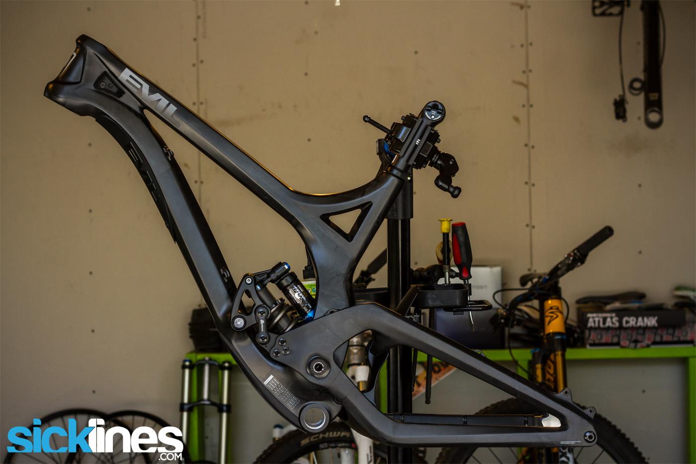 147d550cb45 2013 Evil Undead Frame Medium - Downhill Bike - Carbon Fiber - Sick ...