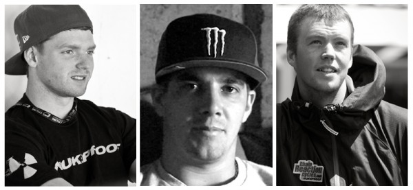 Team CRC/Nukeproof 2013 - Joe Smith - Sam Hill - Matt Simmonds
