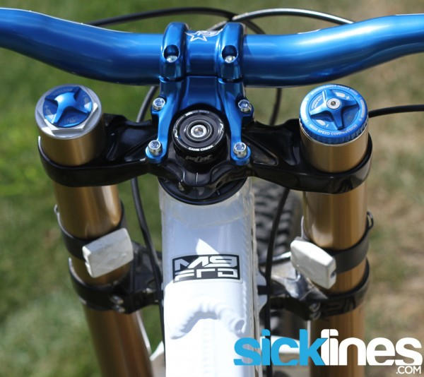 187 Review Odi Lock On Fork Bumpers Fox 40 And Rockshox