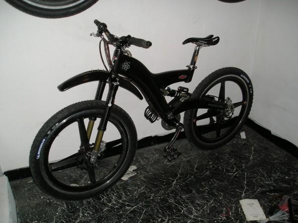carbon/ti 25lb city bike