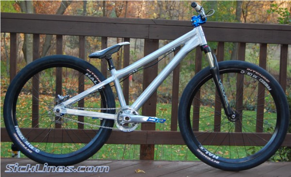 2008 Banshee Bikes Amp hardtail first look