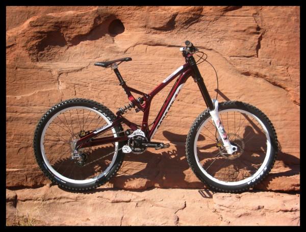 Corsair Bikes Crown Downhill Bike Prototype