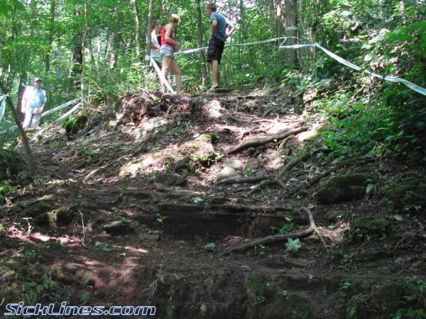 Muscatatuck Downhill Course