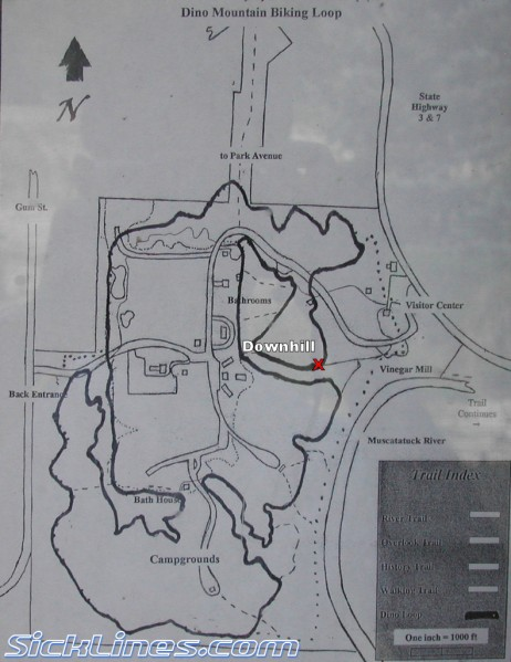 Muscatatuck trail map