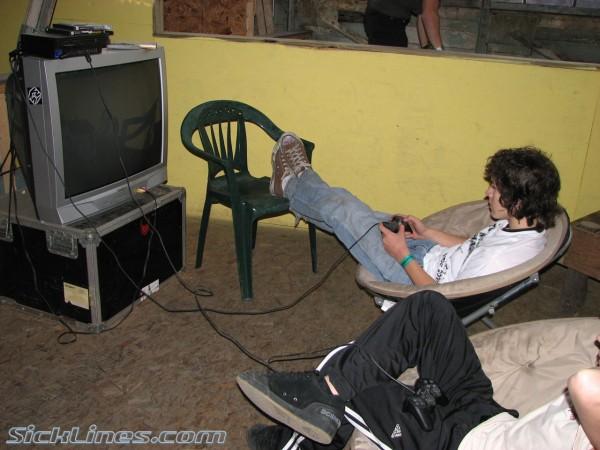 video game lounge