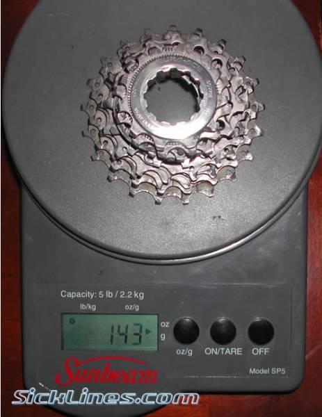 Dura Ace 9spd 11-21 cassette