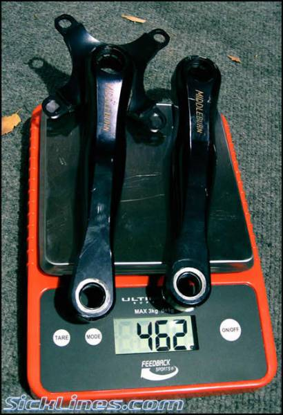 170mm Middleburn crank arms