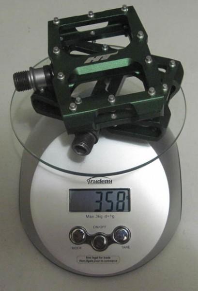 2009 HT AX08 Flat Pedals