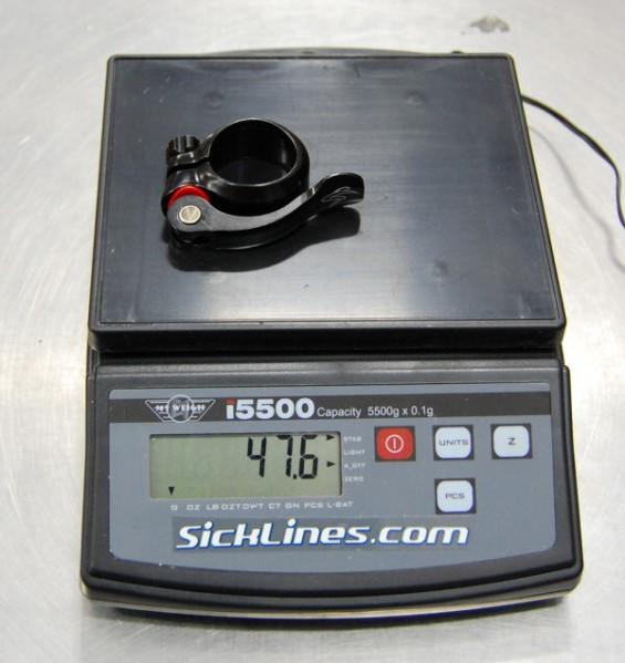 2010 Santa Cruz Driver 8 34.9mm qr seatclamp