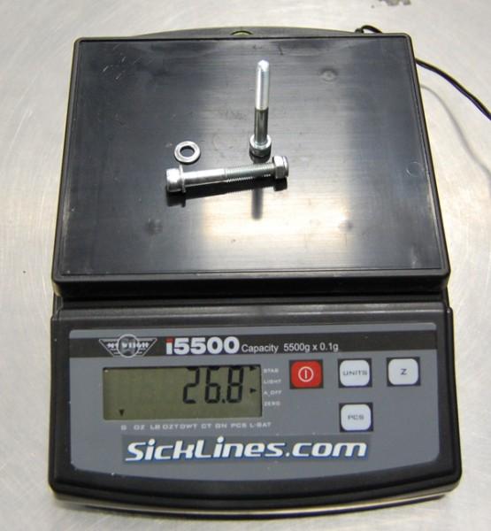 2010 Intense Spider 2 shock hardware