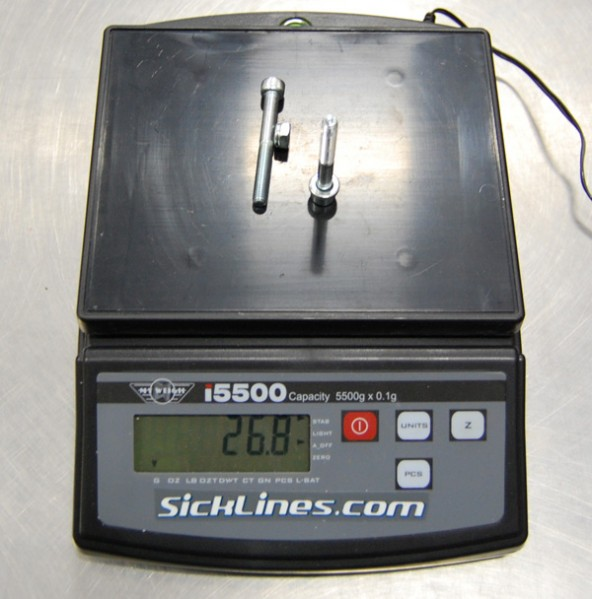 2010 Intense Tracer VP shock hardware