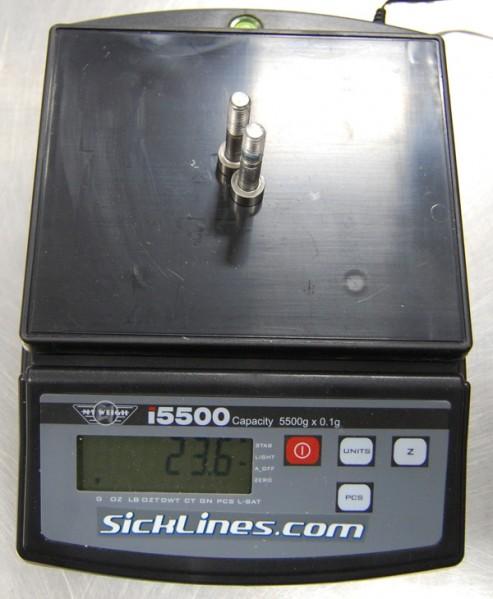 2010 Santa Cruz Blur LT Carbon shock hardware