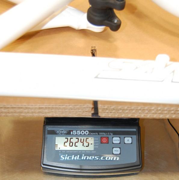 2010 Santa Cruz Blur LT medium white powder coat