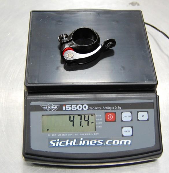 2010 Santa Cruz Blur LT 34.9mm QR seatclamp