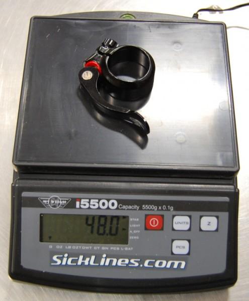 2010 Santa Cruz Nomad 34.9mm QR seatclamp