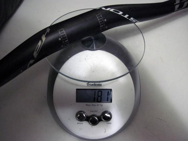 2011 Easton Haven Carbon 31.8mm handlebar 710mm wide