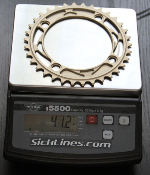 Straitline 34t race ring chain ring
