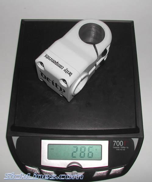 Deity 25.4mm 50mm Stem