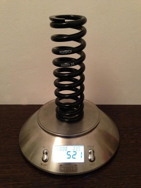 2012 FOX 300lb x 3 steel spring